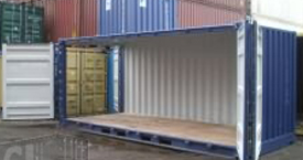 20 ft full side access container